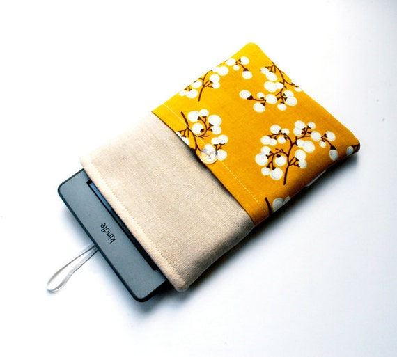 Kindle Touch Cover  - Chic Curry Cotton...Closeout Price