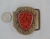 Beth Frank One of a Kind Belt Buckle: 1099