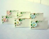 Vintage Place Cards, Wedding Place Cards, Wedding Placecards, Vintage Wedding, Bridal Shower, Baby Shower, Food Markers