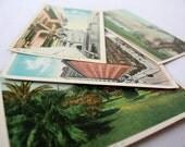 Vintage Postcards, New Orleans Postcards, Set of Postcards, Vintage Travel, New Vintage, Unused Set of 4