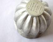 Vintage Mini Jello Molds Set of 4 Silver Gray