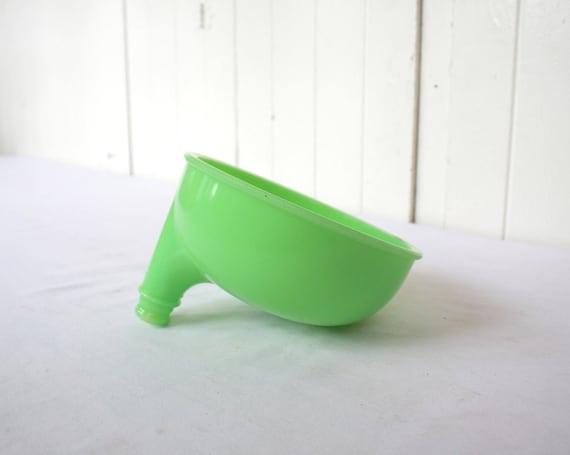 Jadeite Juicer Bowl Attachment for Sunbeam Mixer Mixmaster Vintage