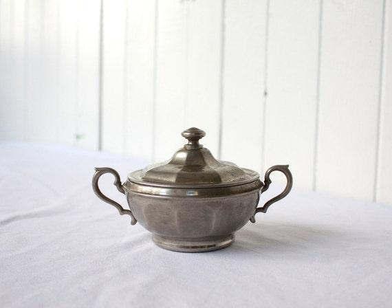 Vintage Silverplate Sugar Bowl Antique Manning-Bowmen & Co.
