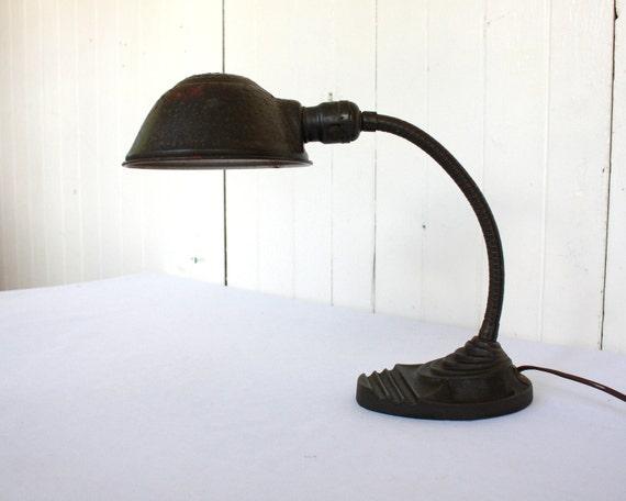 Vintage Desk Lamp Back to School Gooseneck Desk Lamp