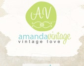 Unique Premade Logo Design ooak business logo with initials(and watermark)