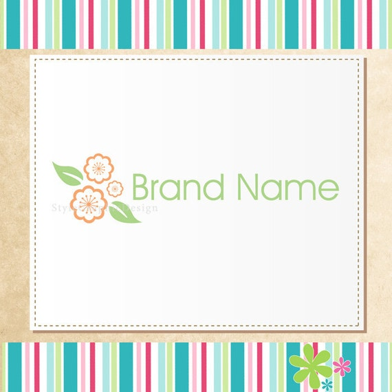 Sale ooak premade Logo with watermark - Never Resold
