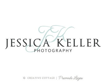 Custom Premade Initial Logo and Watermark For Photographers & Small Businesses- Grace