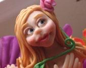OOAK Fairy Polymer Clay Art Doll