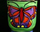 Green Butterfly Cup
