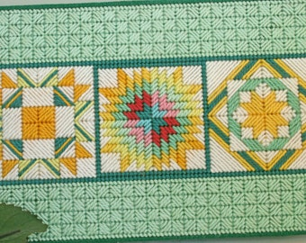 Journal Quilt Pattern Squares - Needlepoint (refillable) - I pay shipping
