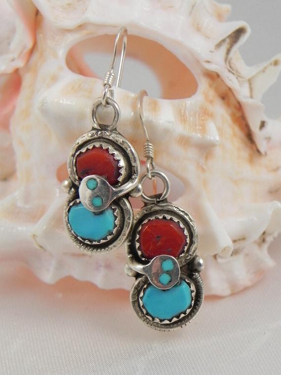 Items Similar To Effie Calavaza Zuni Snake Earrings On Etsy