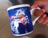 Magical Merry Unicorn Holiday Mug