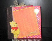 Winnie the Pooh and Friends 6x6 paperbag album