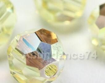 12 pcs Swarovski Elements - Swarovski Crystal Beads 5000 8mm Round Ball Beads - JONQUIL AB