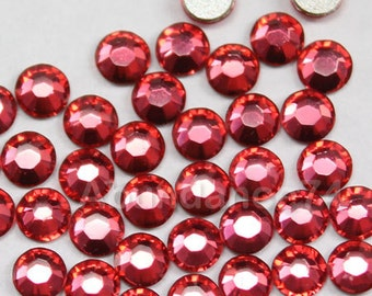 144 pcs Swarovski Crystal 2028 ss12 3mm Rhinestone Flatbacks, Non Hotfix - Padparascha
