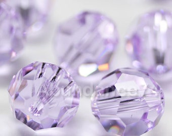 Swarovski Elements Crystal Beads 5000 Round Ball Beads VIOLET - Available in 4mm ,6mm and 8mm