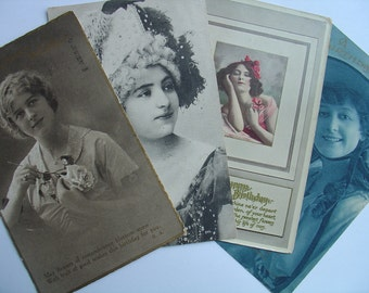 Vintage Post Cards, Relics From The Past