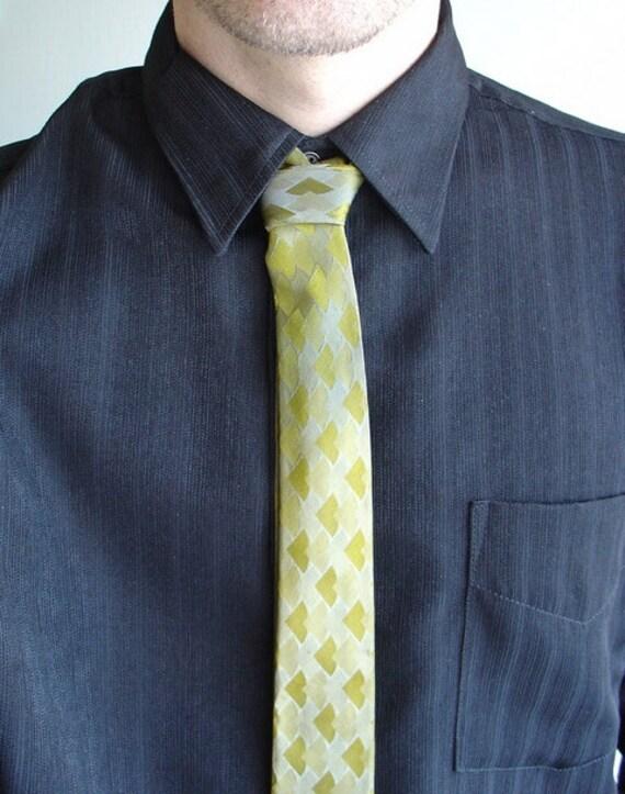 Silk Necktie 70's Vintage