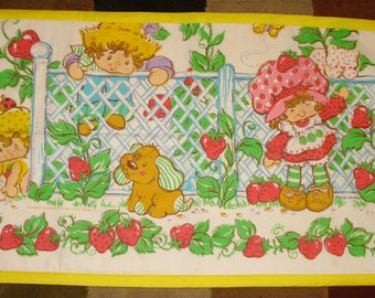 Vintage Strawberry Shortcake Wall Hanging