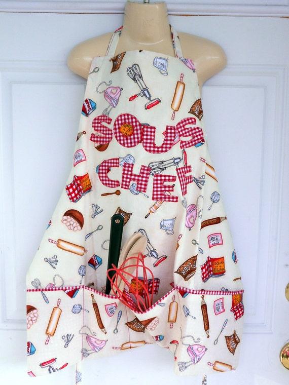 Personalized Baking Apron, Art Apron, Personalized gift, Kitchen apron, Childs apron, Personalized apron