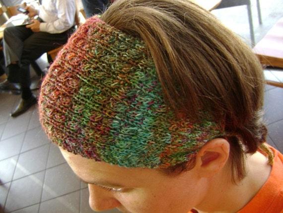 Commuter Headband (knitting pattern)
