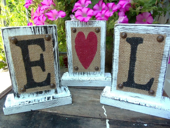 Wedding or Home Decor Sign self standing table sign vintage STYLE 7 x 5.5