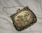 Pastoral Tapestry Purse