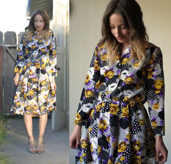 Spring Mix Shirtdress (M)