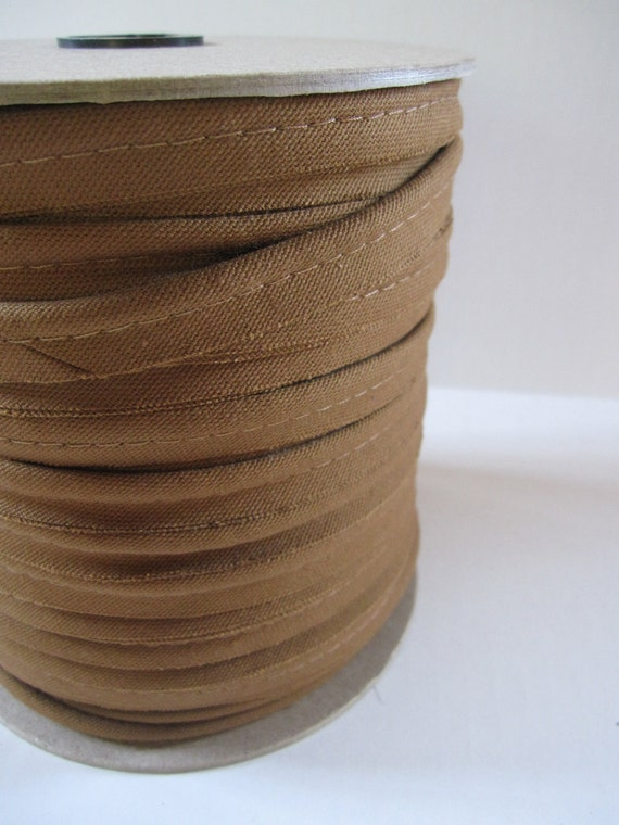 5 Yards Of  Clove (Brown) 100% Cotton Piping Trim (Made In USA)