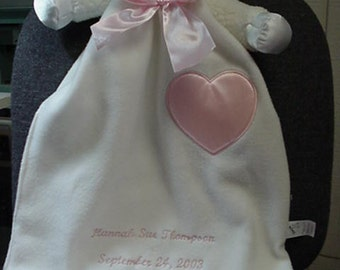 Personalized Lovie Character Blankets (Pink Lovie's sold out)