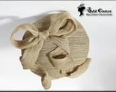 Silk Ribbon Bow Fascinator