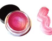 "SALE Save 40% - Pot style Lip Gloss ""POPPY PINK "" Sheer High Shine Moisturizing"
