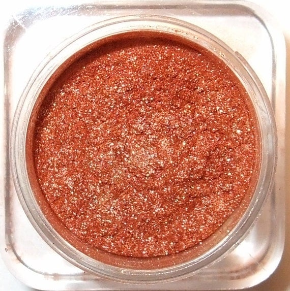 "Orchid Blue Cosmetics Mineral Eye Shadow ""Copper Shimmer"" 3 Grams"