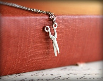 Seamstress Scissors Necklace