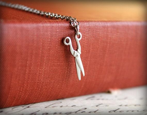Seamstress Scissors Necklace