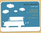 Moving Announcement Printable Change of Address Modern