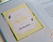Books and Bees Baby Shower Bookplate Printable