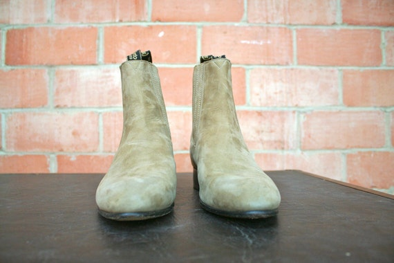 Chelsea Tan Suede Boot