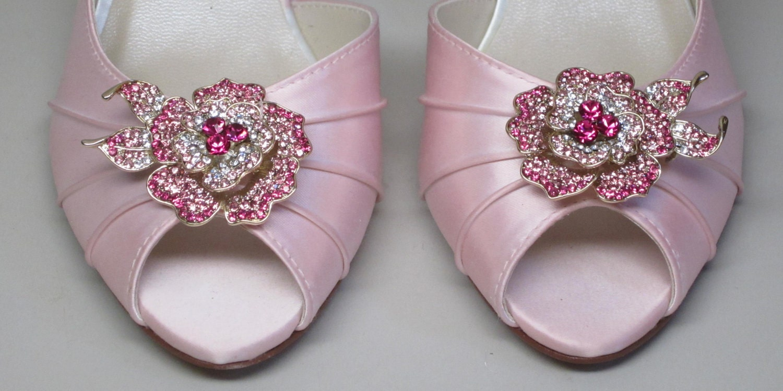 Baby Pink Kitten Heels