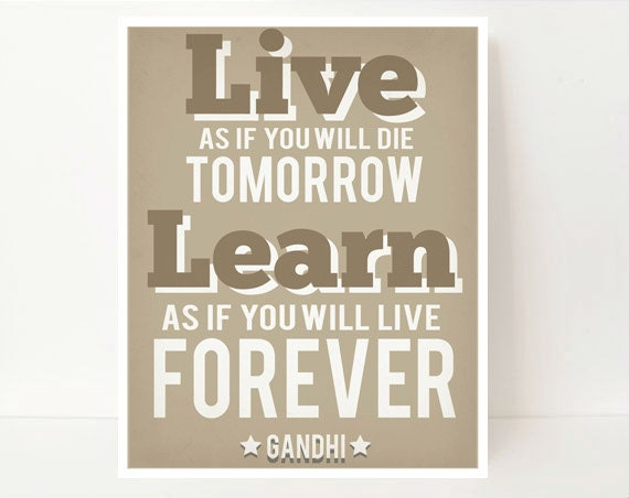 Classroom Decoration, Classroom Wall Art, Gandhi Quote, Famous Quotes, Classroom Quotes, Library Quotes, Learning Quotes, Classroom Decor,