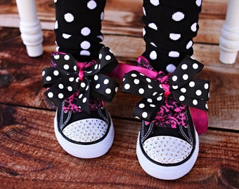 Swarovski Crystal Bling Shoes for Toddlers Size 9