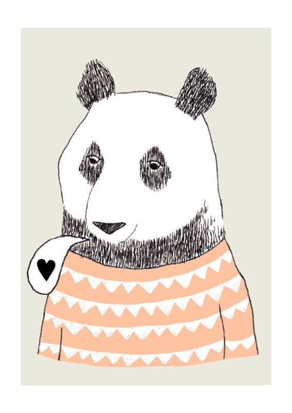 Bear - print