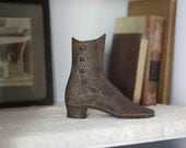 Victorian Cast Iron Boot, Reserved