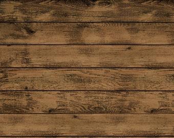 Darkside Timber Faux Wood Rug Flooring Background or Floor Drop Photo Prop