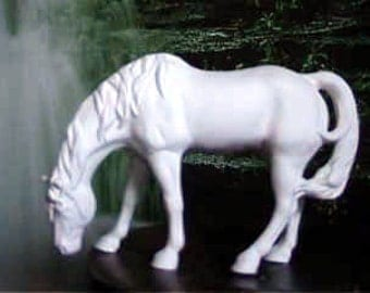 Indian Horse, Quarter horse, Standing Horse, Western Horse, ready to paint, u-paint,Ceramic bisque
