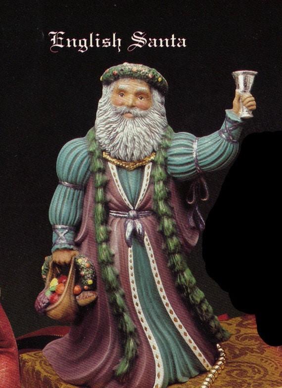 10 Old World Santa English Santa Collectible Kimple