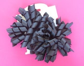 Hair Bow Set - Solid Black Korkers