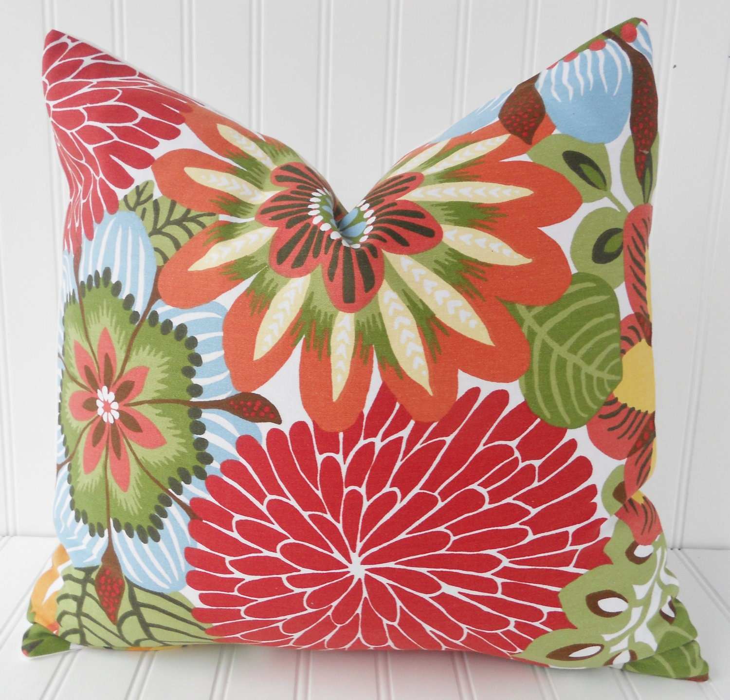 Decorative Pillows Tropical : Tropical Pillow Tropical Throw Pillow by MariaClaireInteriors