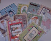 a variety selection of hand made cards (10)