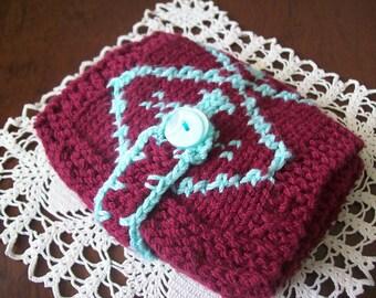 SALE-SHOP CLEARANCE-Handmade knitted women wallet-carpet design